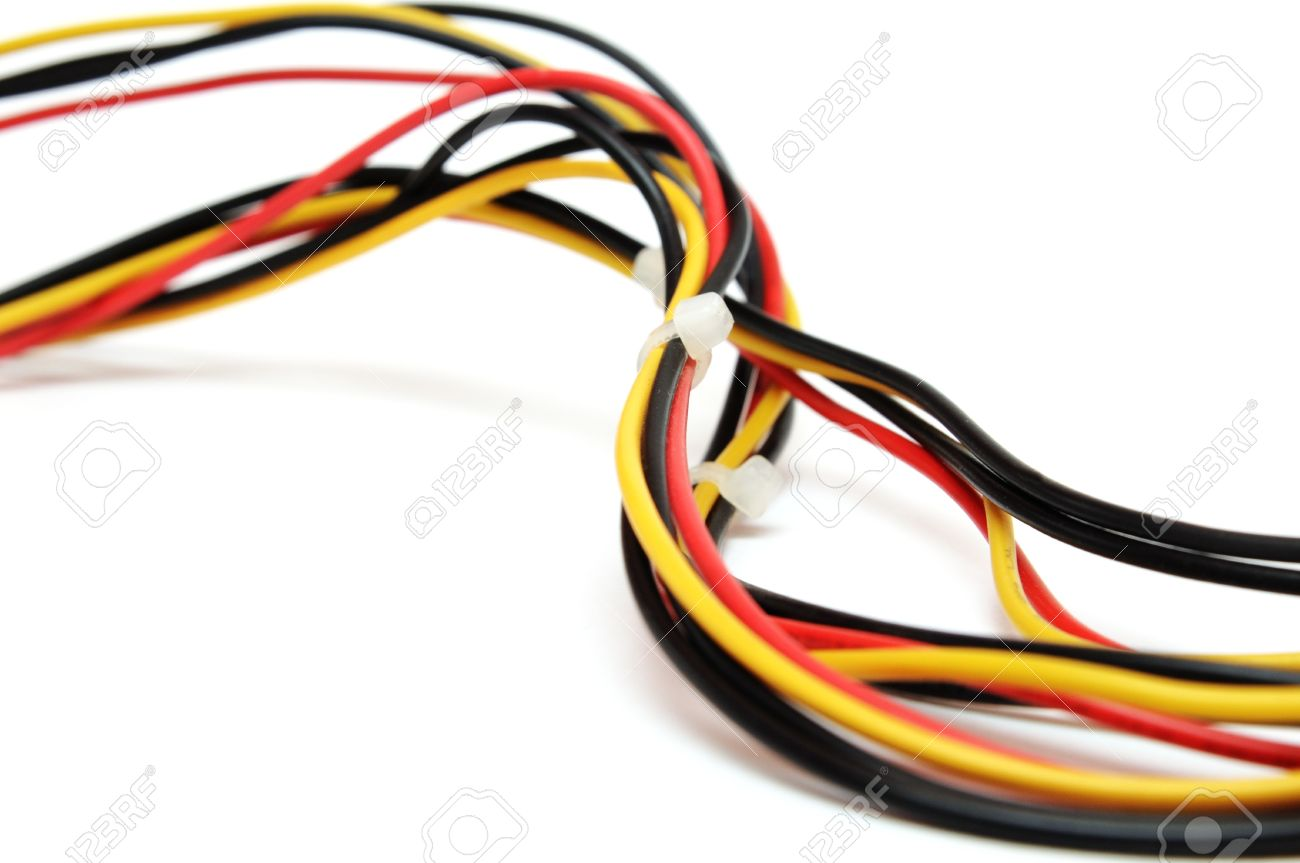 colorful computer wires stock photo picture and royalty free image rh 123rf com computer wires near me computer wires near me