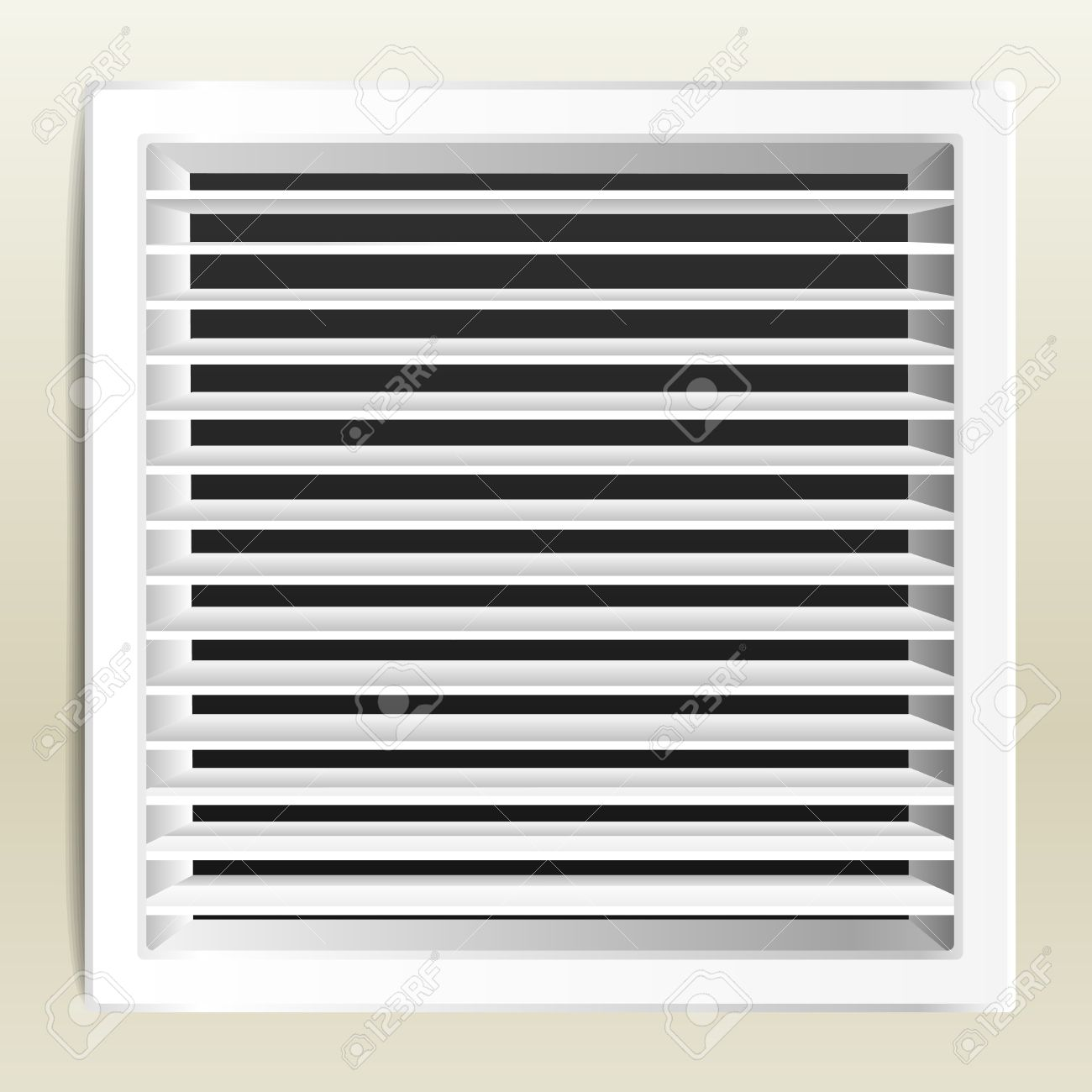 Bathroom Ventilation photo realistic bathroom ventilation window. royalty free cliparts