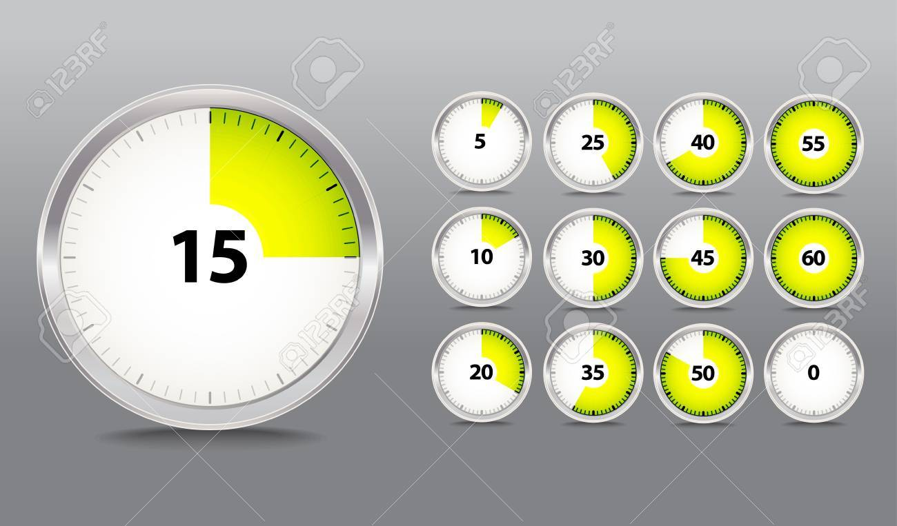 timer collection Stock Vector - 11430947