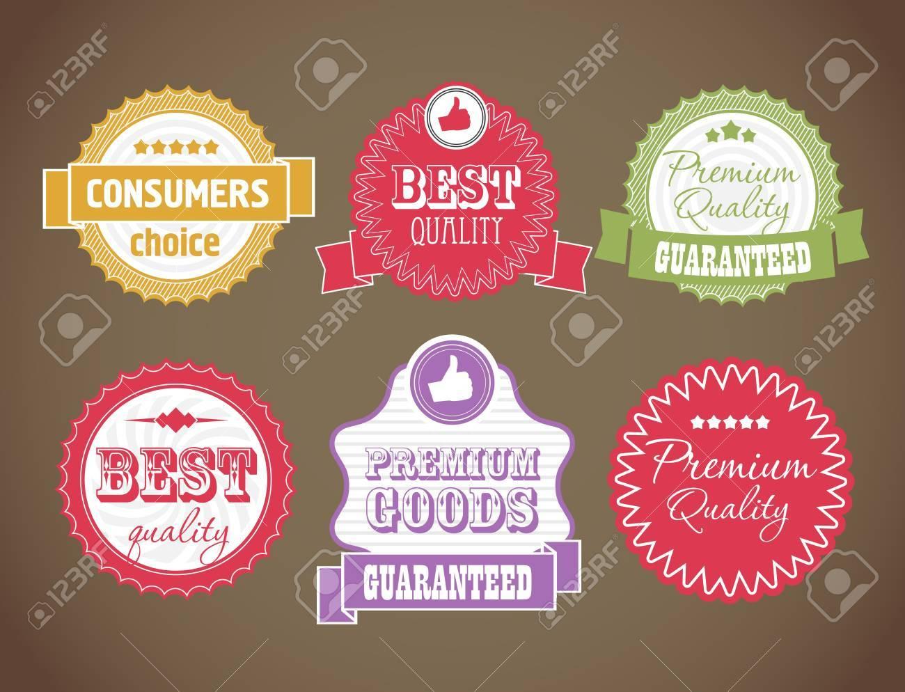 vintage discount labels set Stock Vector - 12429063