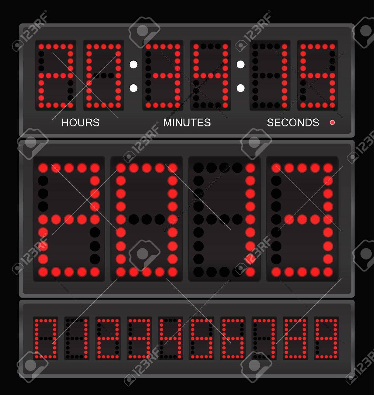Digital clock - 12837358