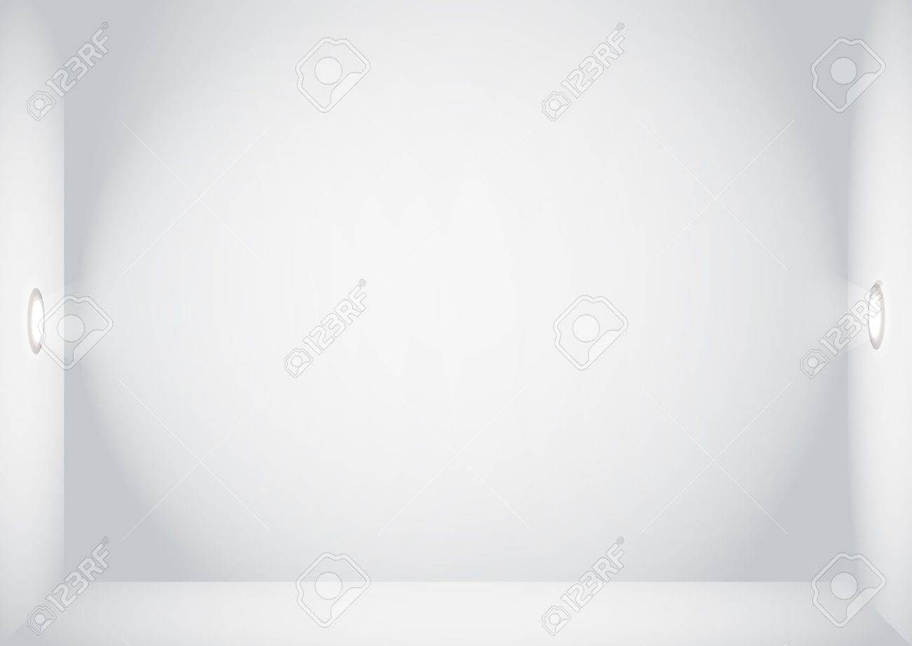 Illuminated empty wall template  Ready for your content Stock Vector - 12837388