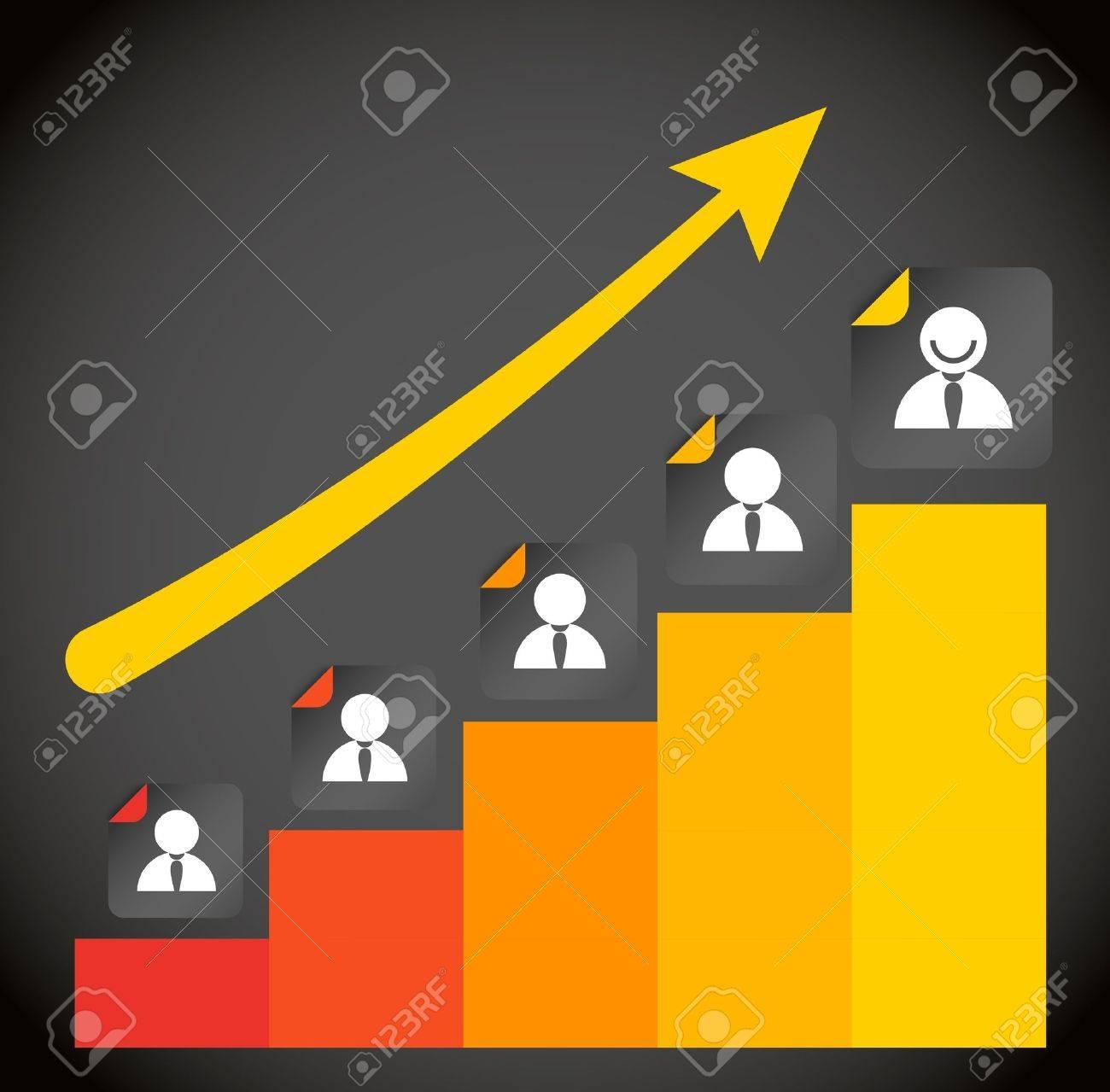 growing ledder abstract scheme Stock Vector - 13293045
