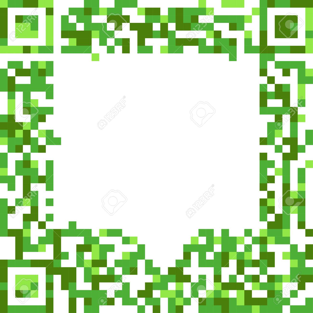 Abstract speech cloud of qr-code Stock Vector - 15118437