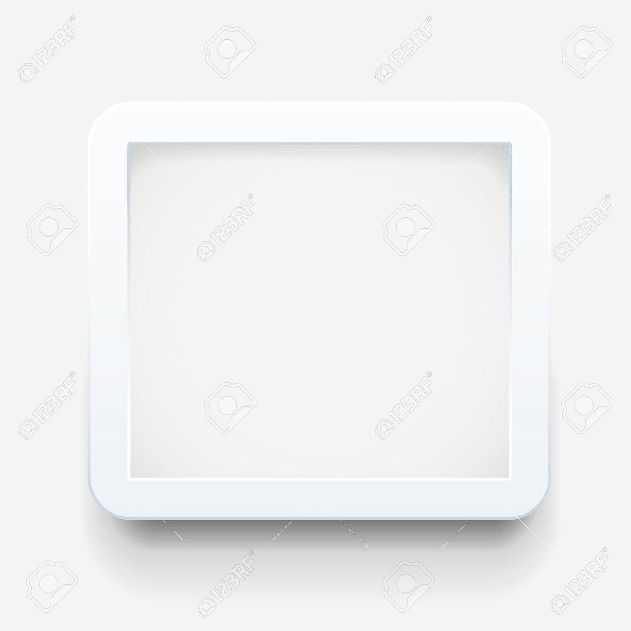 Empty Frame On The Wall Royalty Free Cliparts, Vectors, And Stock ...