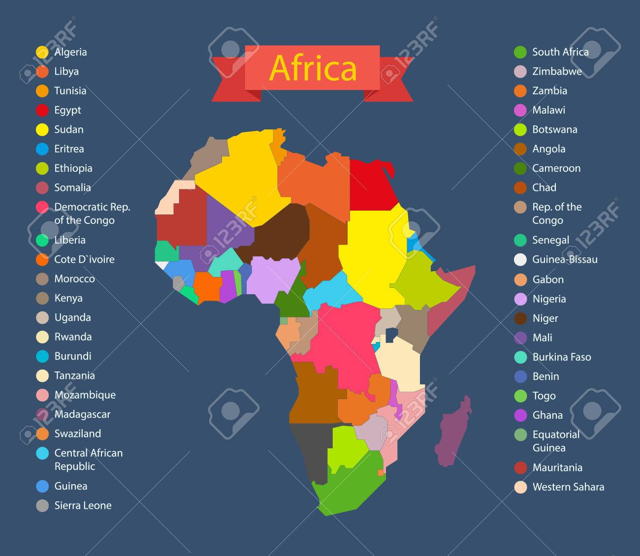 World map infographic template countries of africa royalty free vector world map infographic template countries of africa gumiabroncs Choice Image