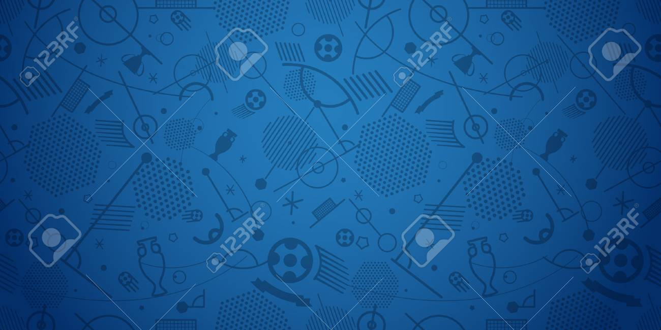 Soccer championship abstract background vector illustration - 80180977