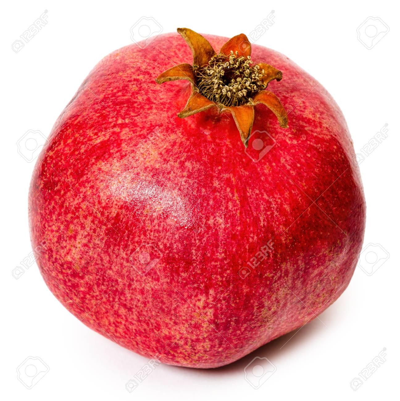 whole red fruit pomegranate full of vitamin juice antioxidant