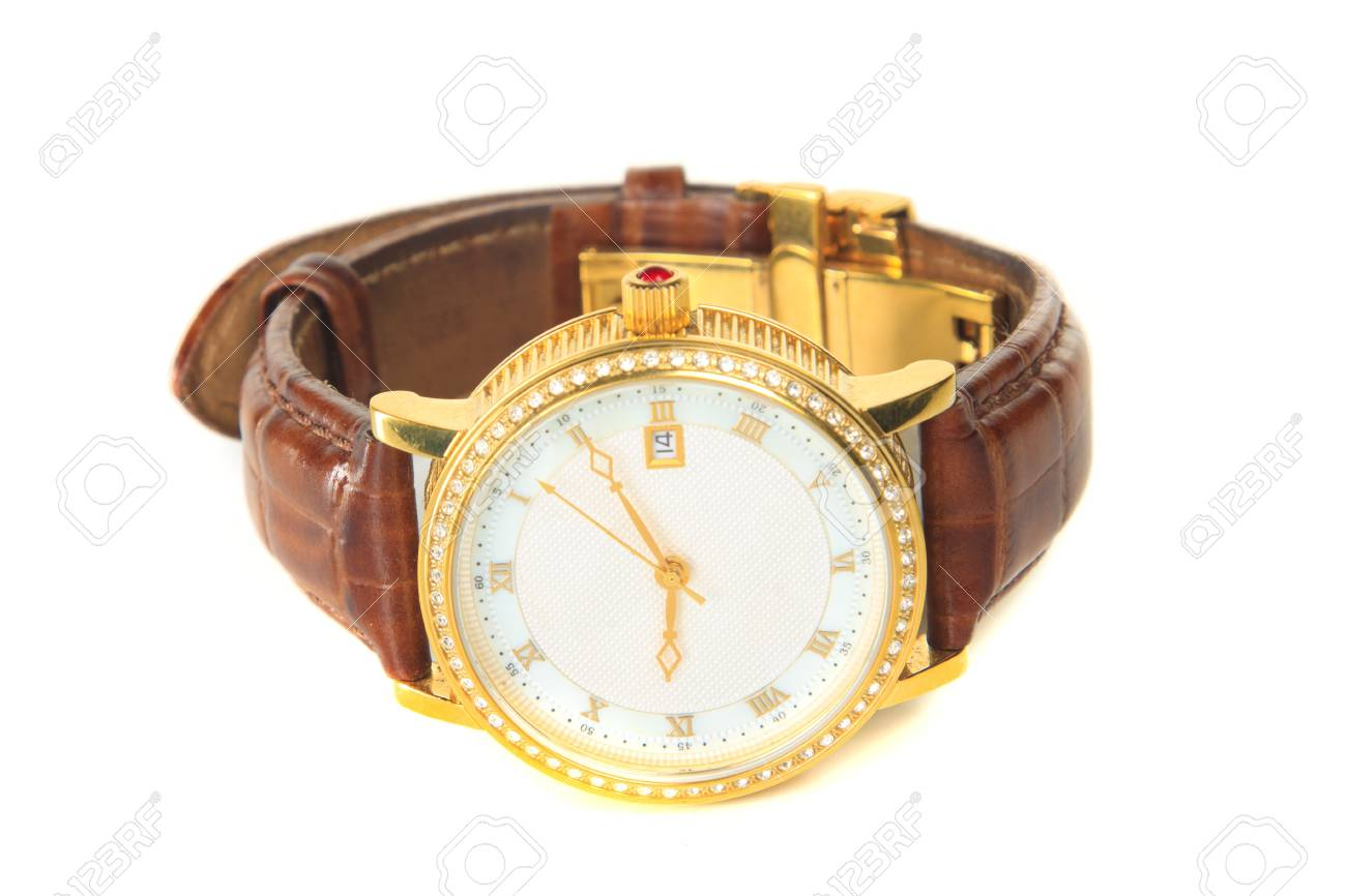 Men's wristwatch in isolation Stock Photo - 11231146