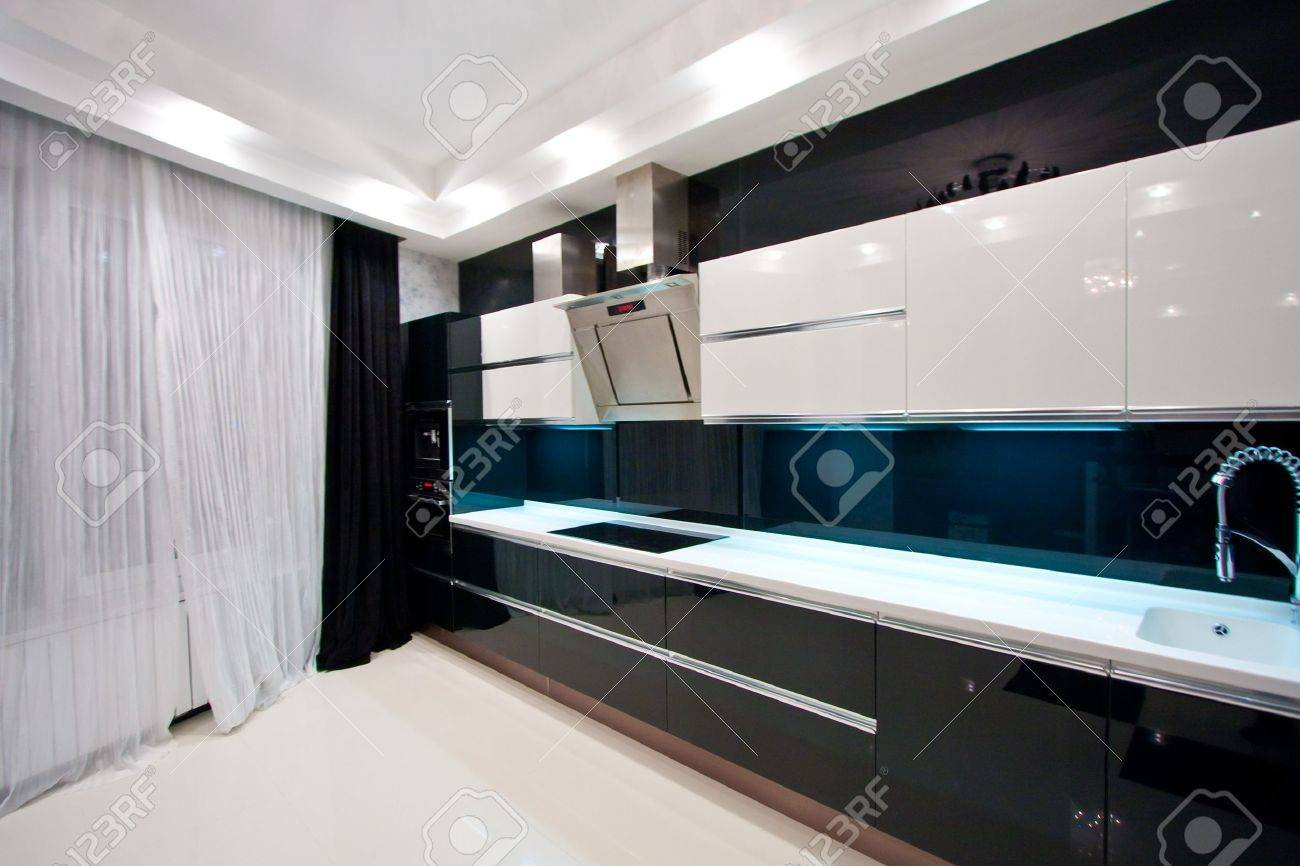 The interior of the apartment. The kitchen Stock Photo - 12406919
