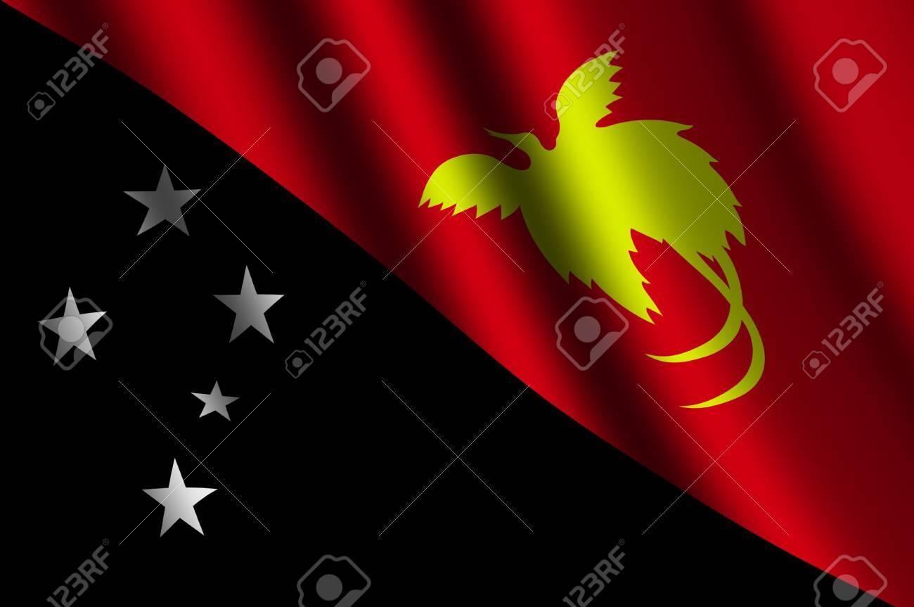 la papouasie nouvelle guinee drapeau