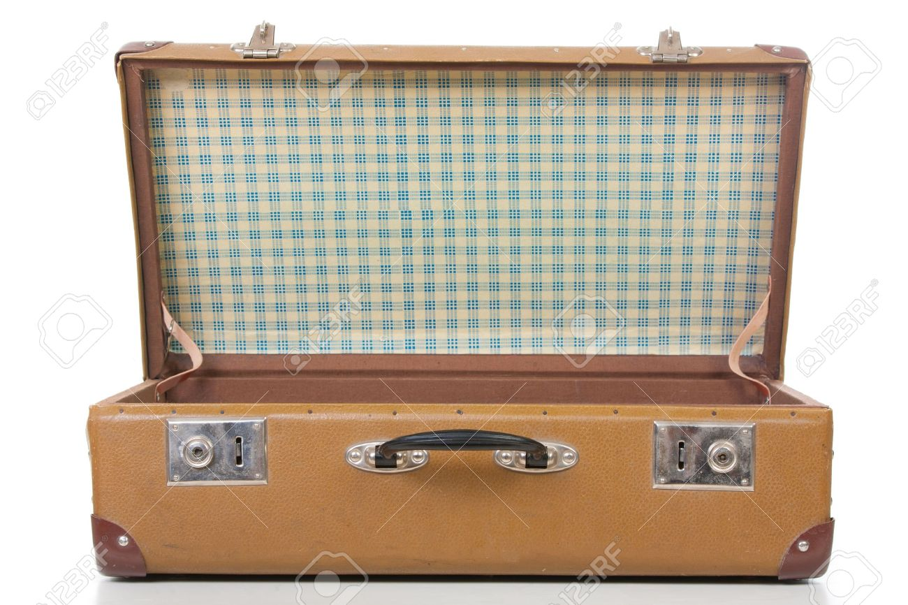 the open suitcase Stock Photo - 15734651