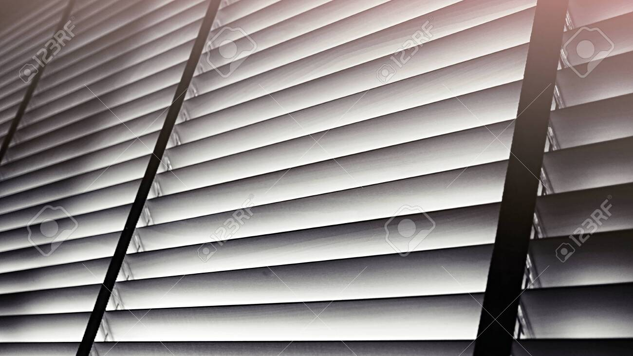 Evening Sun Light Outside Wooden Window Blinds Sunshine And Stock Photo Picture And Royalty Free Image Image 121333055