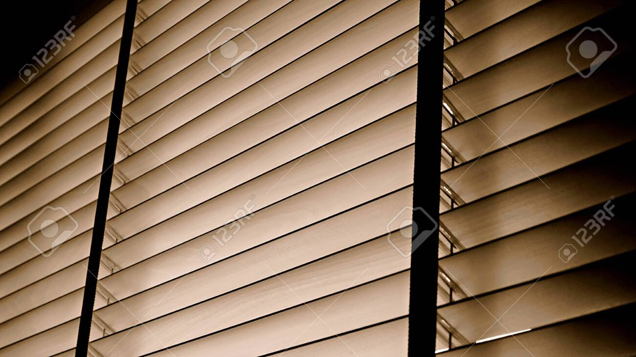 Evening Sun Light Outside Wooden Window Blinds Blind Background Stock Photo Picture And Royalty Free Image Image 121333062