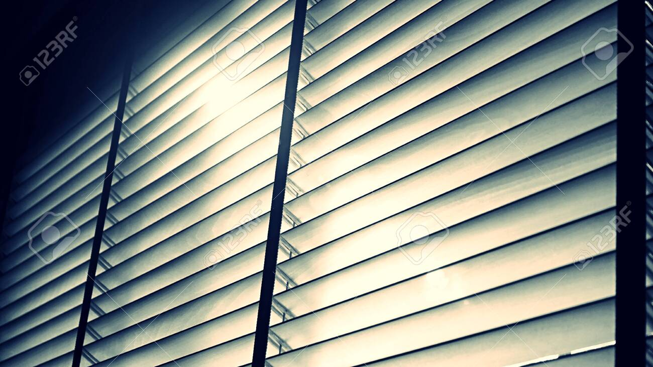 Evening Sun Light Outside Wooden Window Blinds Blind Background Stock Photo Picture And Royalty Free Image Image 121333063