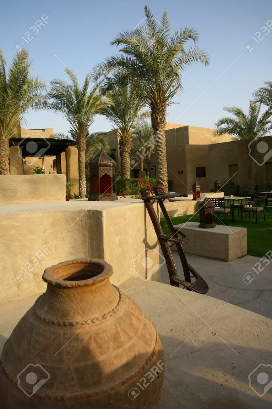 Jumeirah Bab Al Shams Hotel Interior Dubai Arab Stock Photo Picture And Royalty Free Image Image 81525740