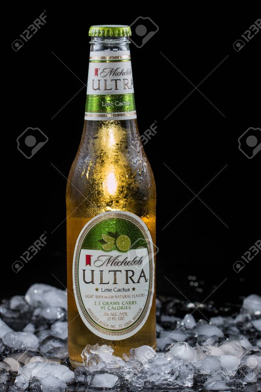 Pensacola, FL   August 12, 2015: MIchelob Ultra Is A Low Carb Beer
