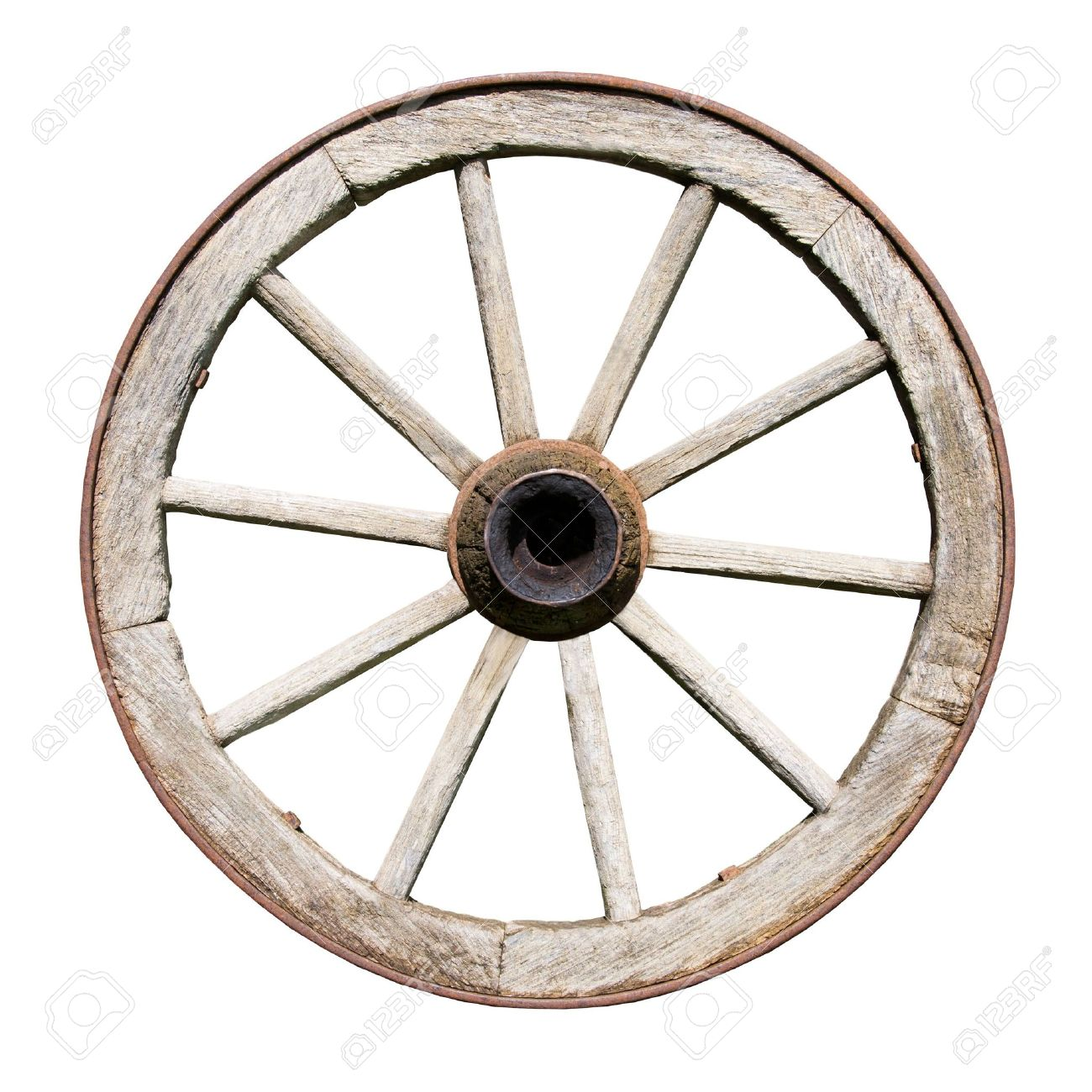 Old traditional wodden wheel isolated on white background stock old traditional wodden wheel isolated on white background stock photo 7617240 publicscrutiny Choice Image