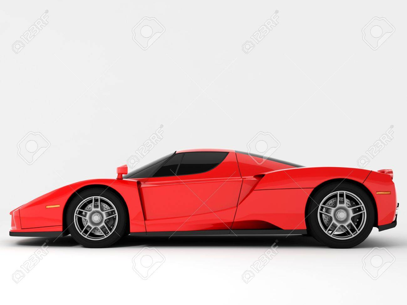 Red Super Car Stock Photo - 6014282