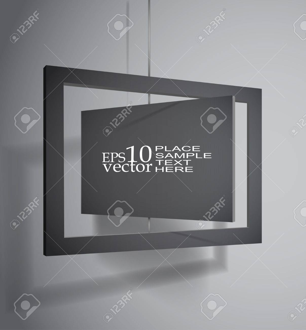Hanging board template - 14021593