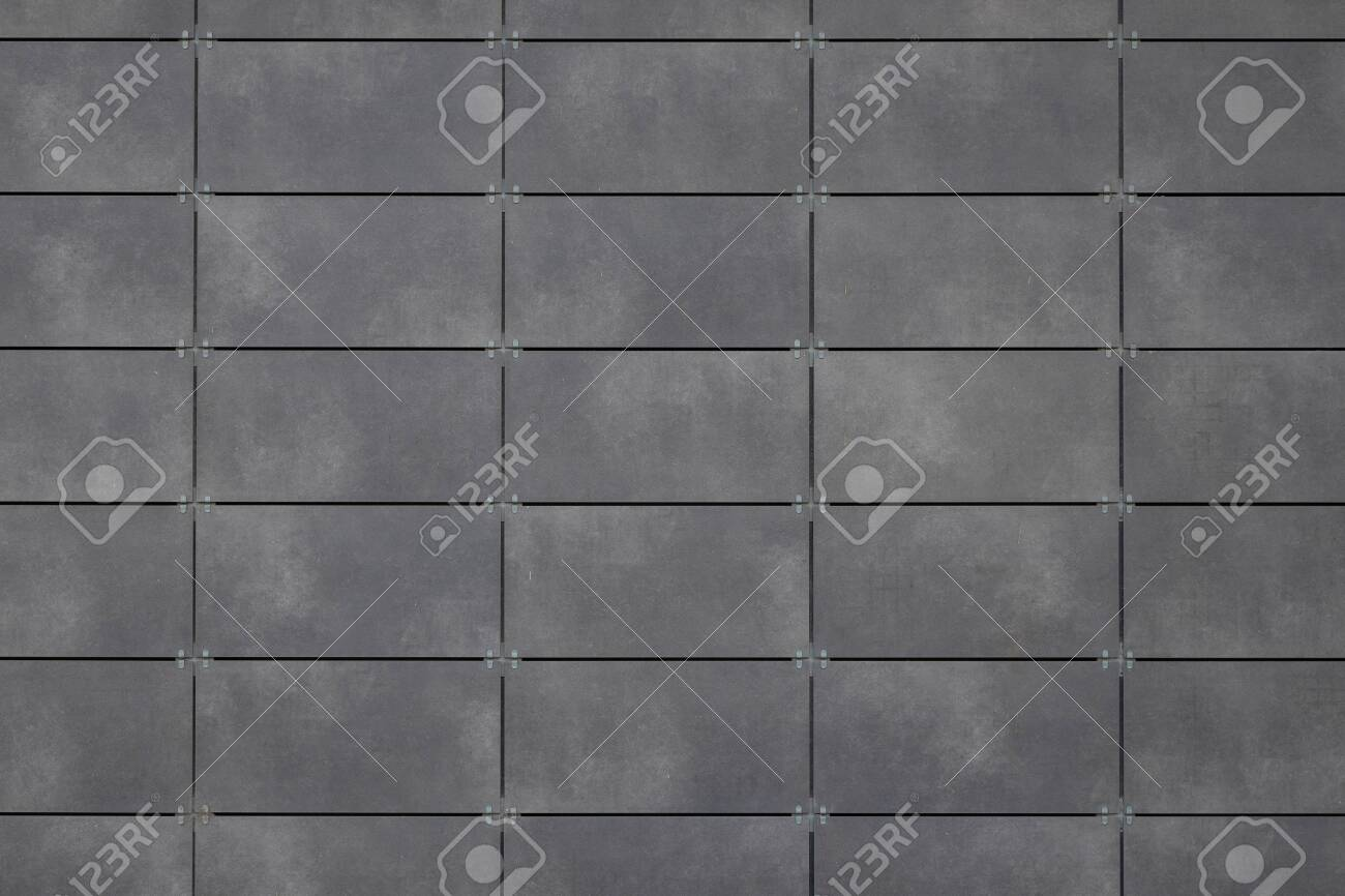Gray Tile Ceramic Seamless Texture Square Dark Grey Surface Stock Photo Picture And Royalty Free Image Image 130562910