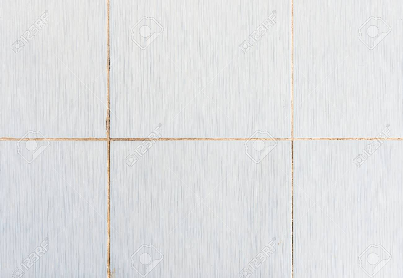 Old Tile Wall With The Dirty Grout In The Kitchen Of The Urban ...