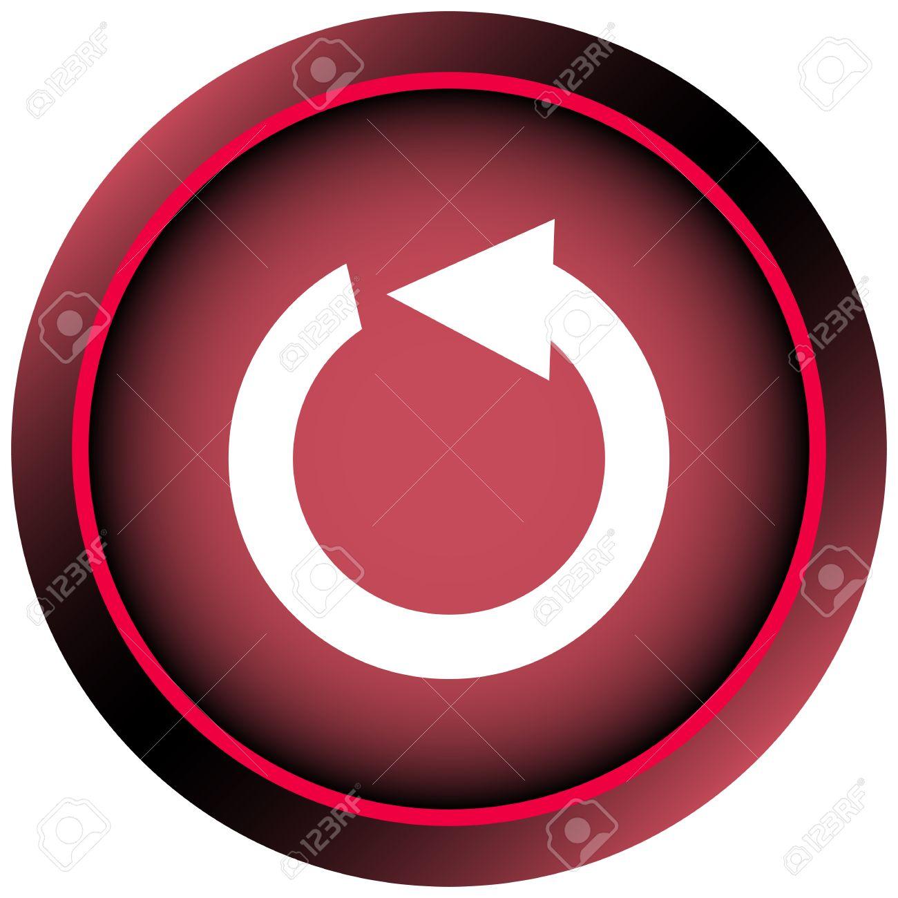 Restart Button Clipart
