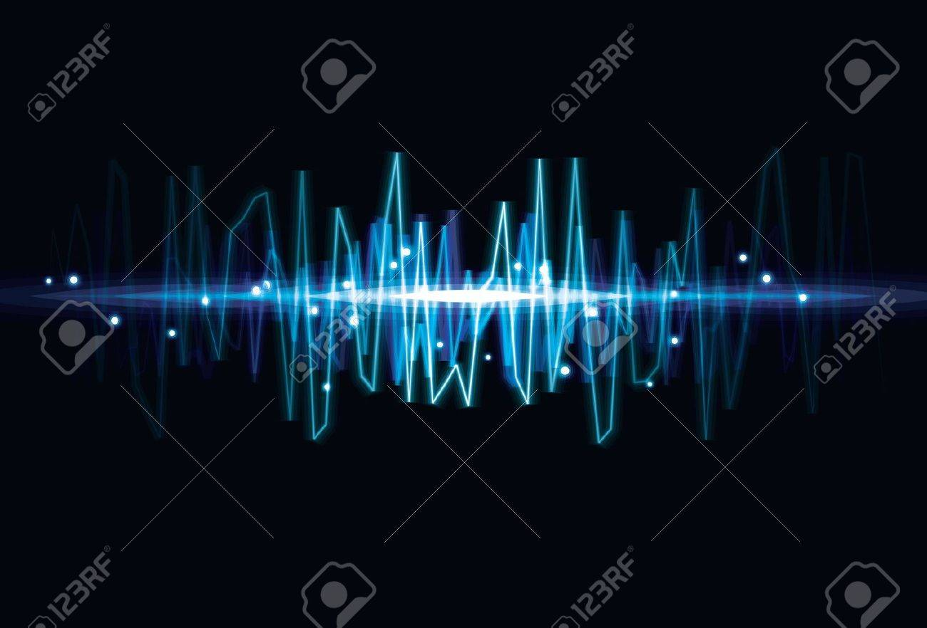 blurry abstract audio wave light effect background royalty free