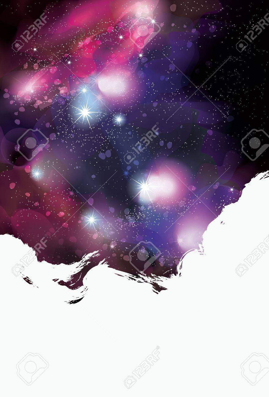 Artistic painted grunge space background Stock Vector - 21191619