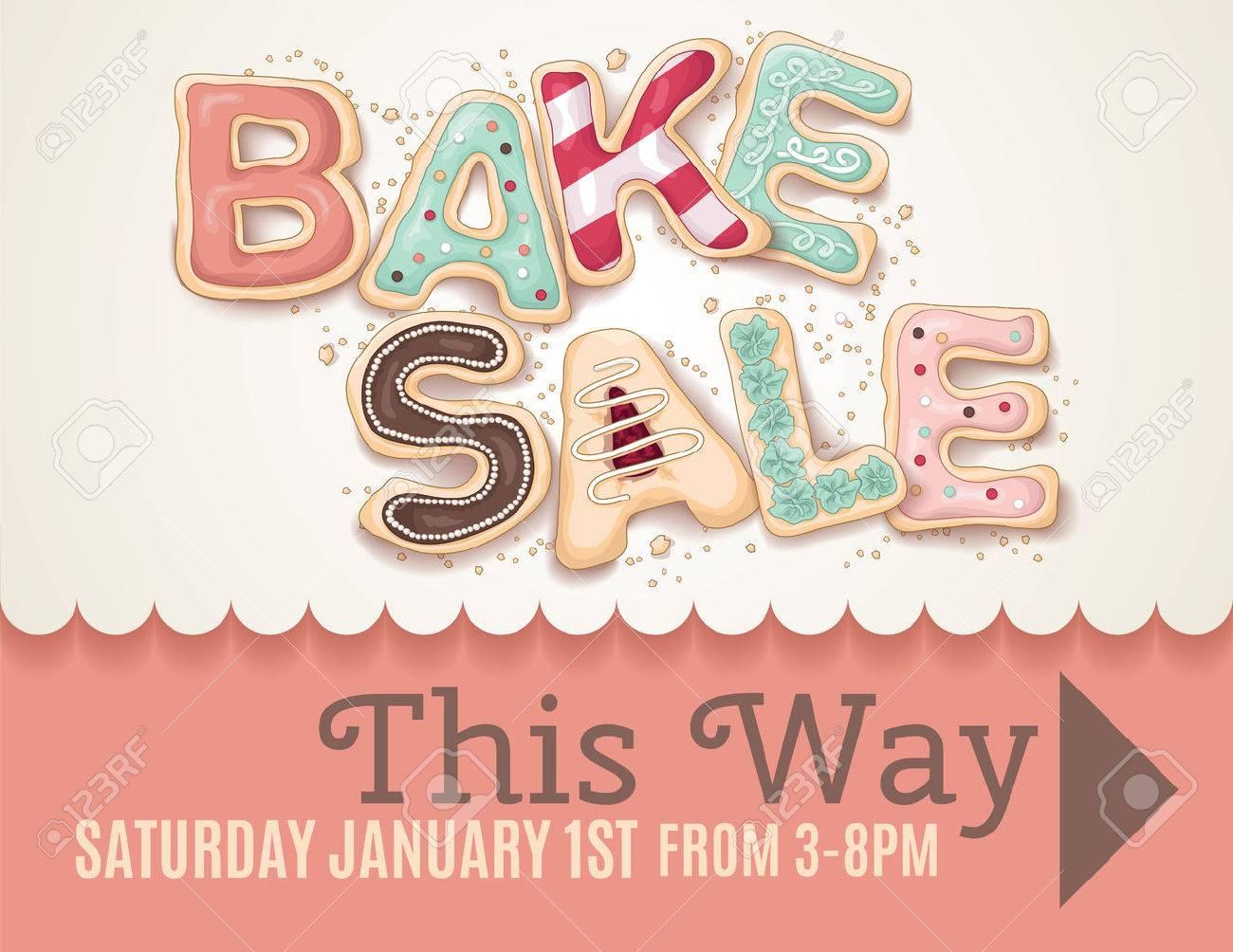 bake sale flyer templates free