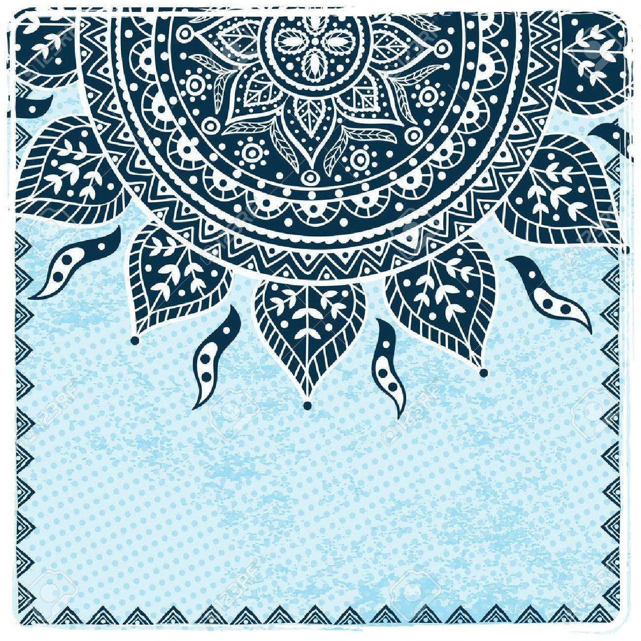 Beautiful ethnic ornament Stock Vector - 17930085