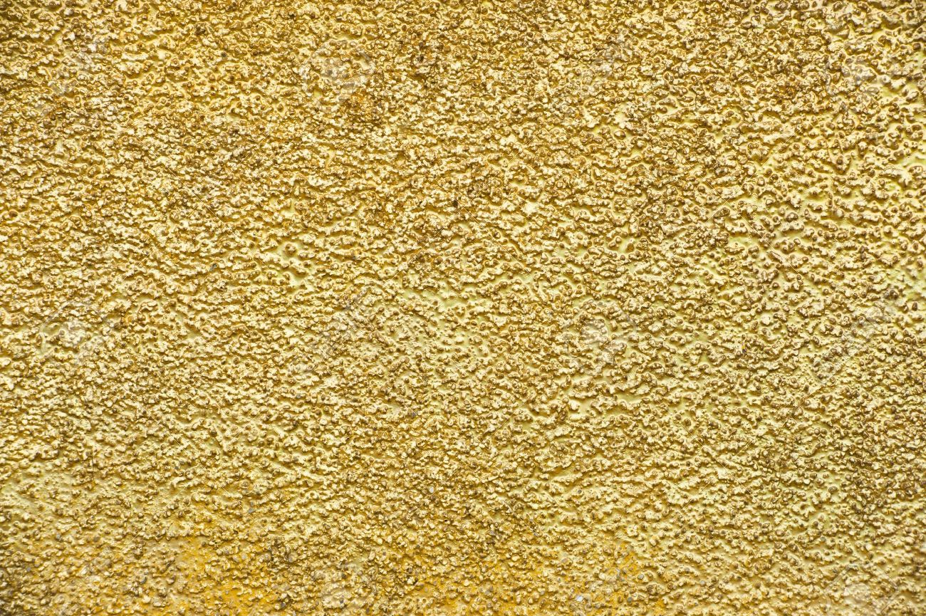 Golden wall background Stock Photo - 10436671