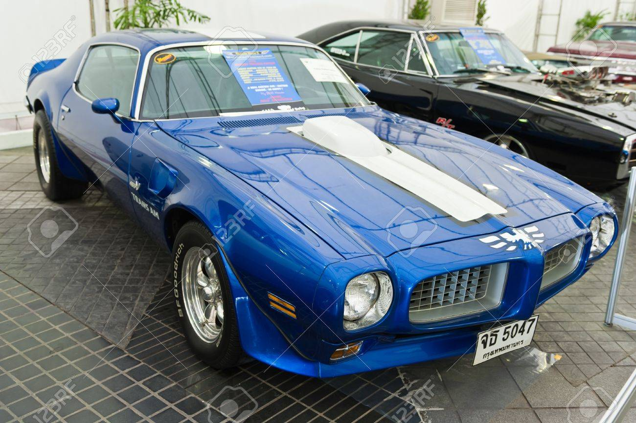 BANGKOK - JUNE 24: Firebird Transam Custom (1973) On Display.. Stock ...