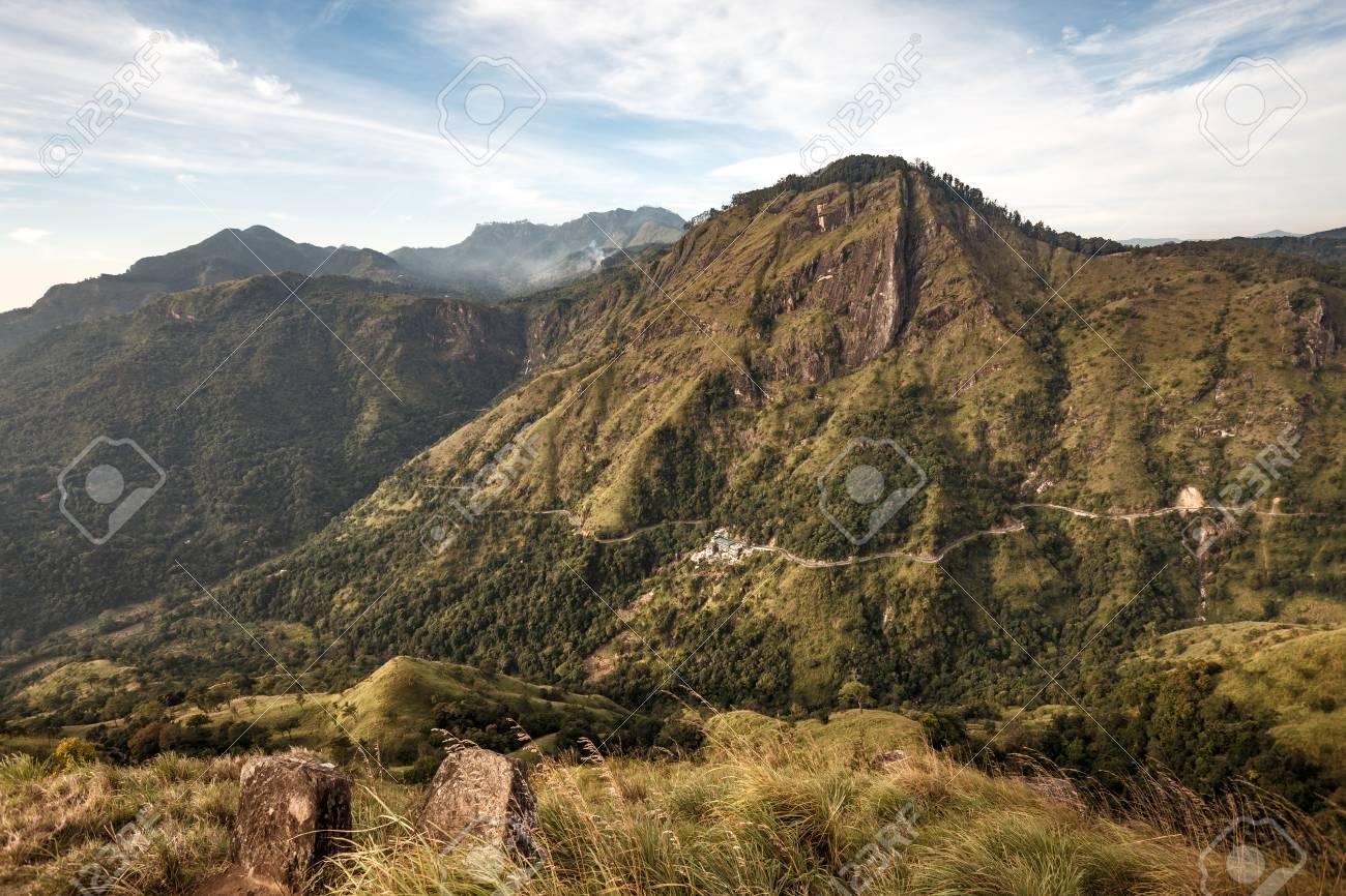 311835c3a Mountain Ella Rock. View from Little Adam s Peak. Mountain landscape in Sri  Lanka.