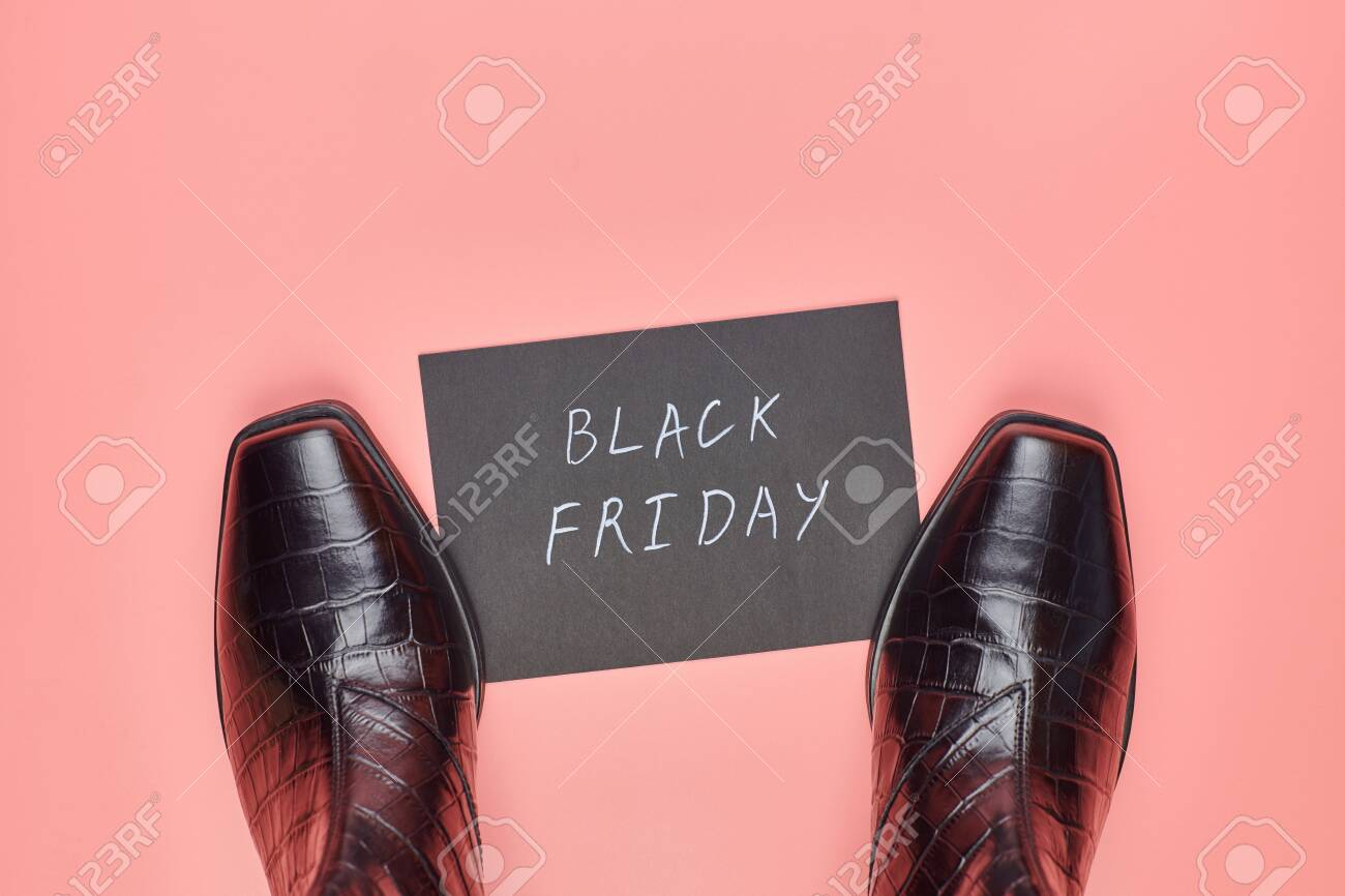 Black Friday In Shoes Store Concept