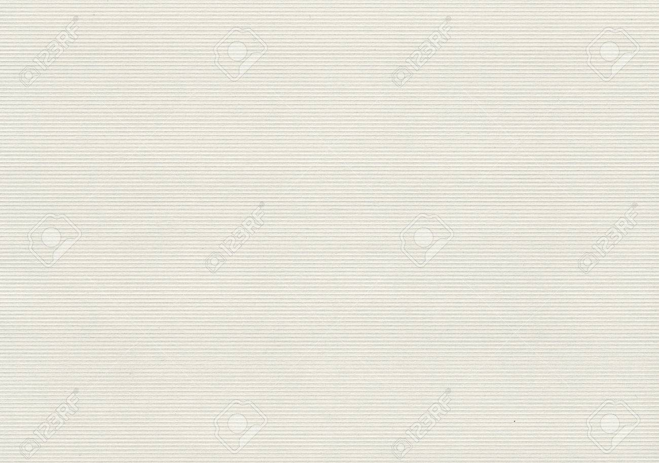 White paper texture background with horizontal stripes - 66294123
