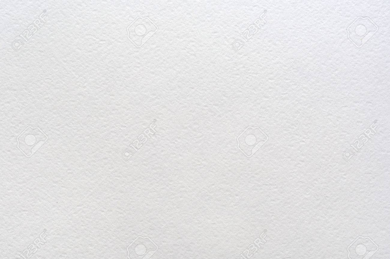 Paper texture. Sheet of white watercolor paper background - 68608789