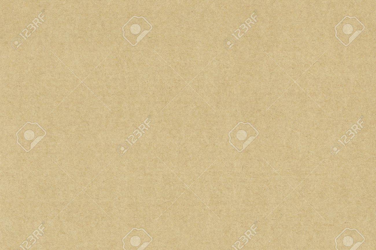 Paper texture. Sheet of beige recycled card background - 68611265
