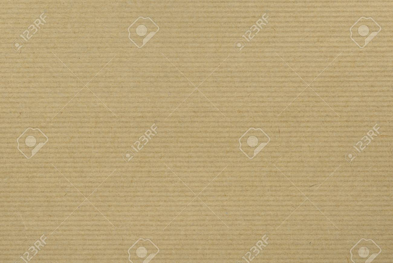 Craft Paper background with horizontal stripes - 68613794
