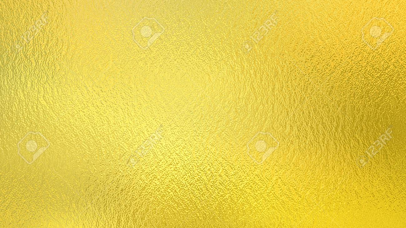 Gold background. Golden foil decorative texture - 71000731