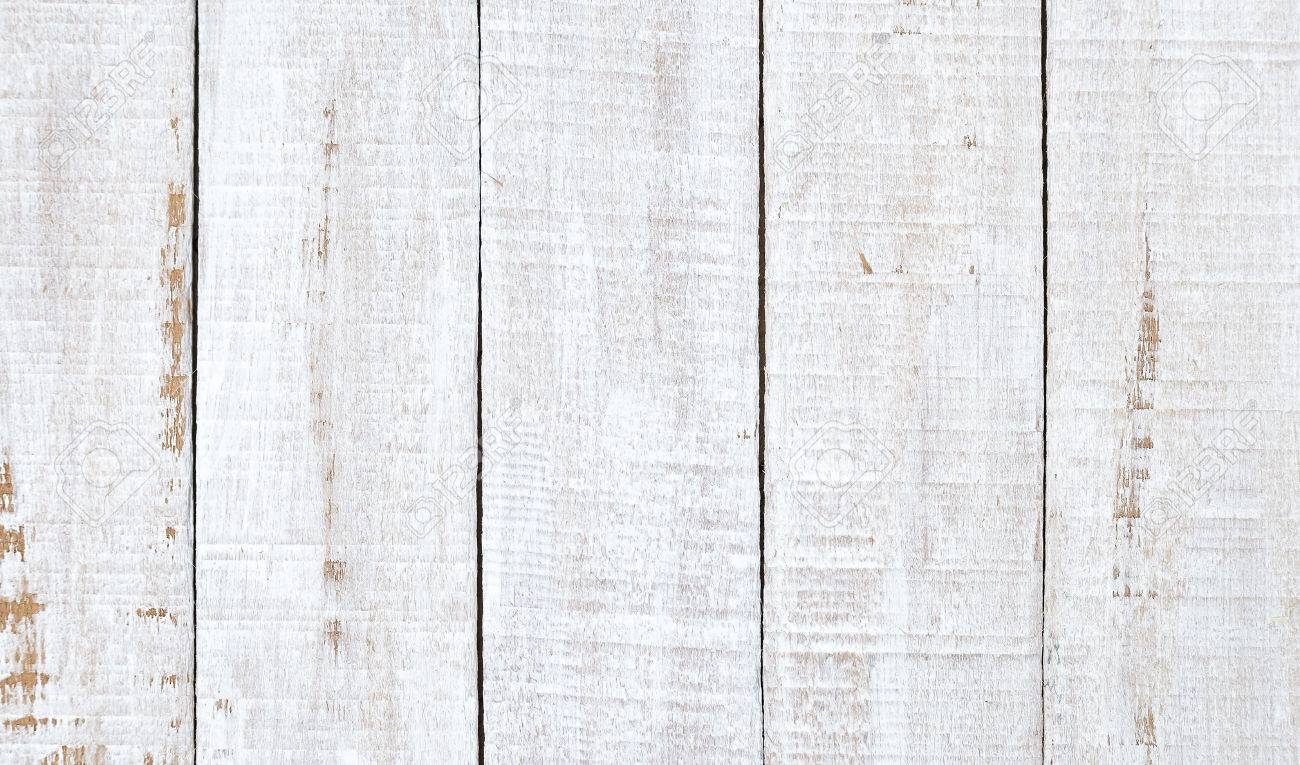 Beau Stock Photo   White Wood Plank As Texture And Background