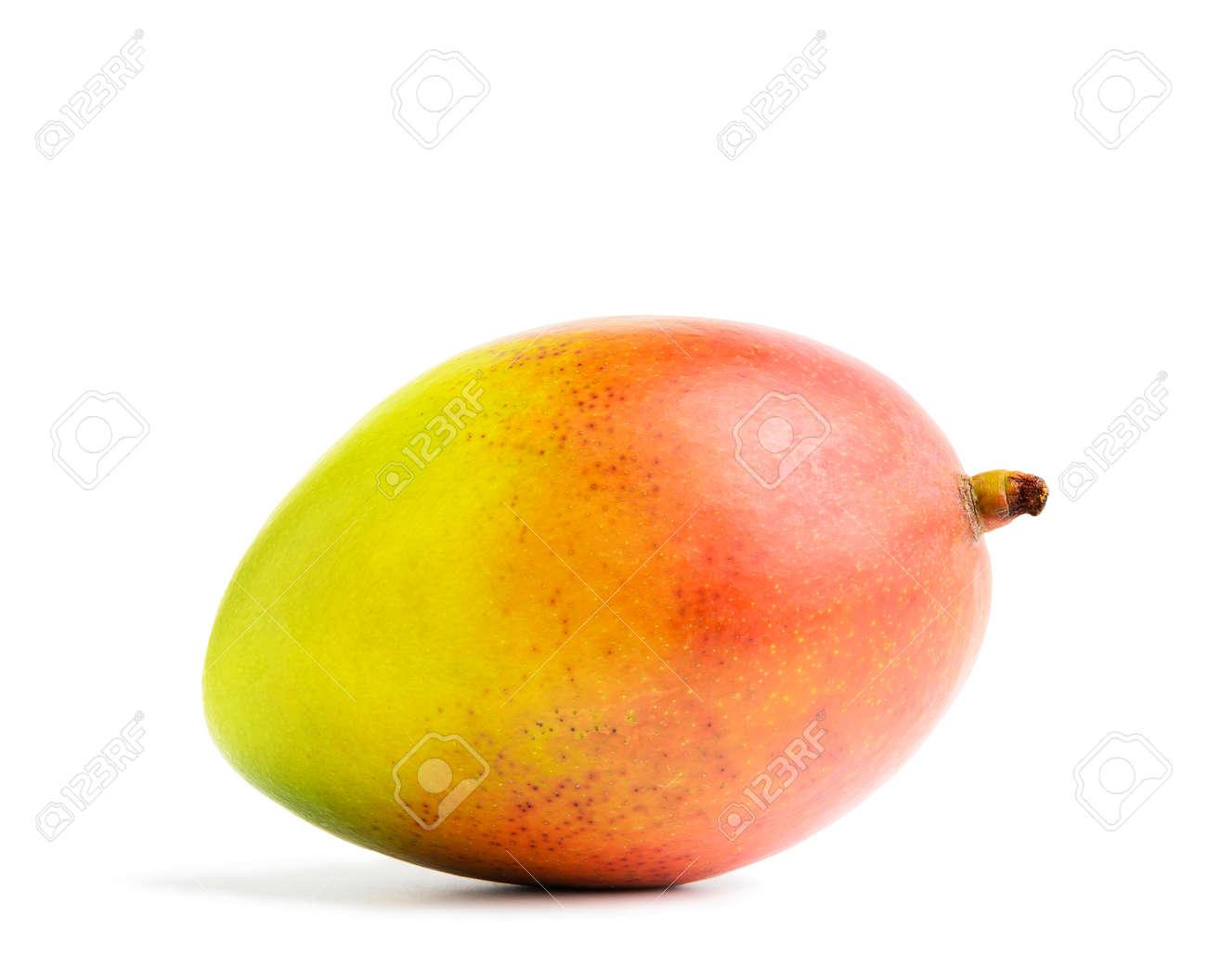 Mango fruit isolated on a white background. - 170500518