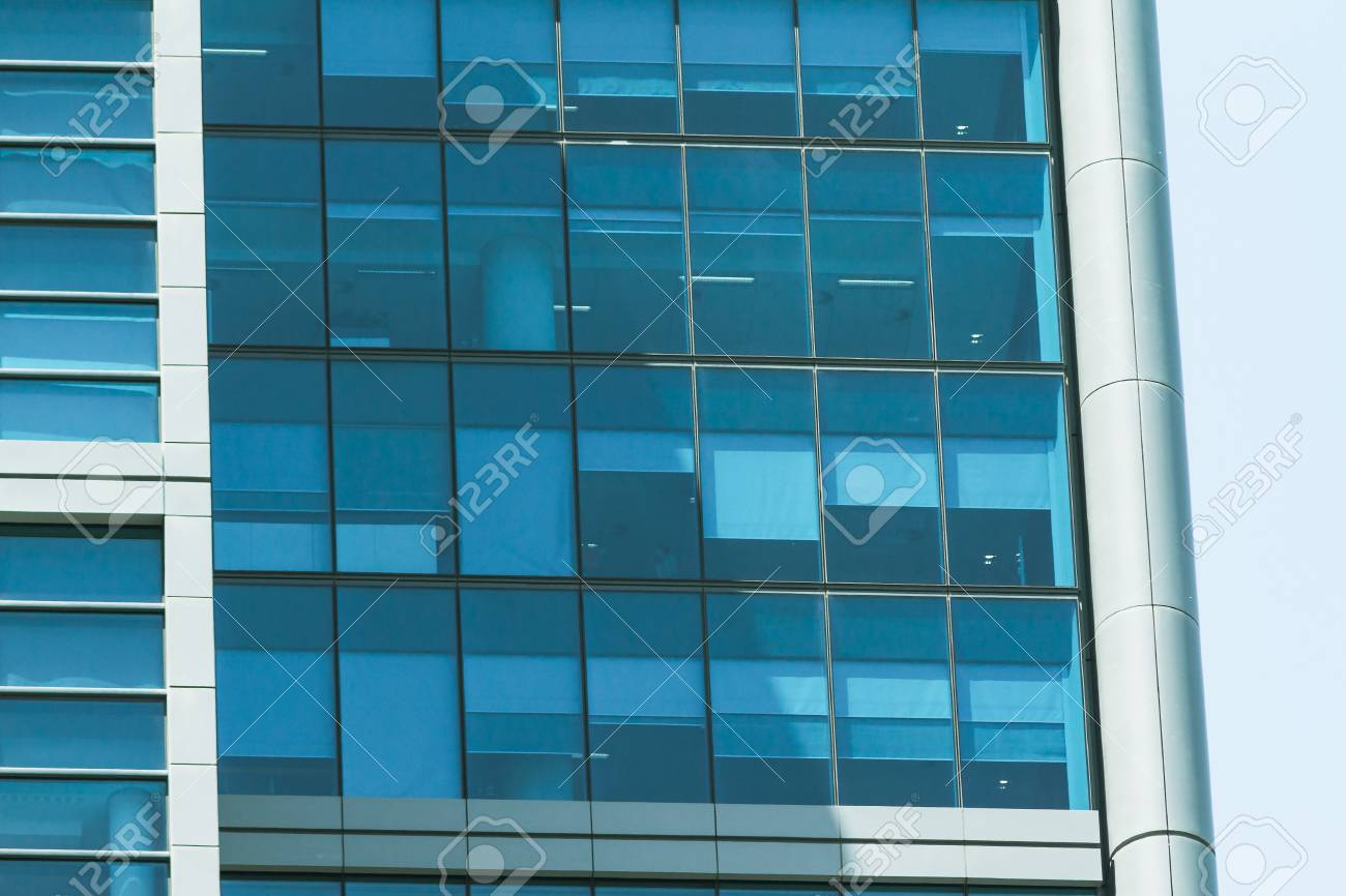 Building Facade With Modern Window Design For Steel Glass Office Stock Photo Picture And Royalty Free Image Image 116651768