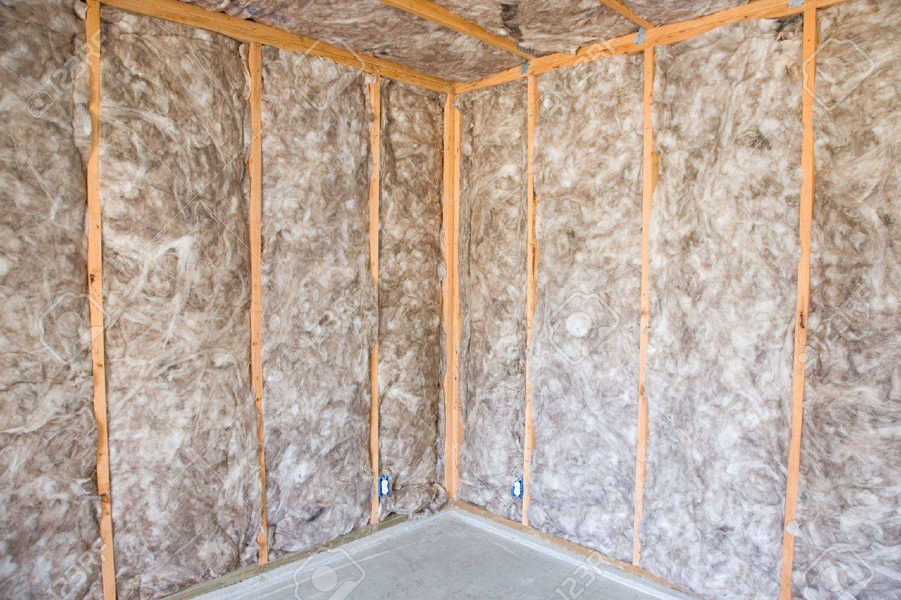 ecofriendly insulation in a home remodel project stock photo - Home Remodel