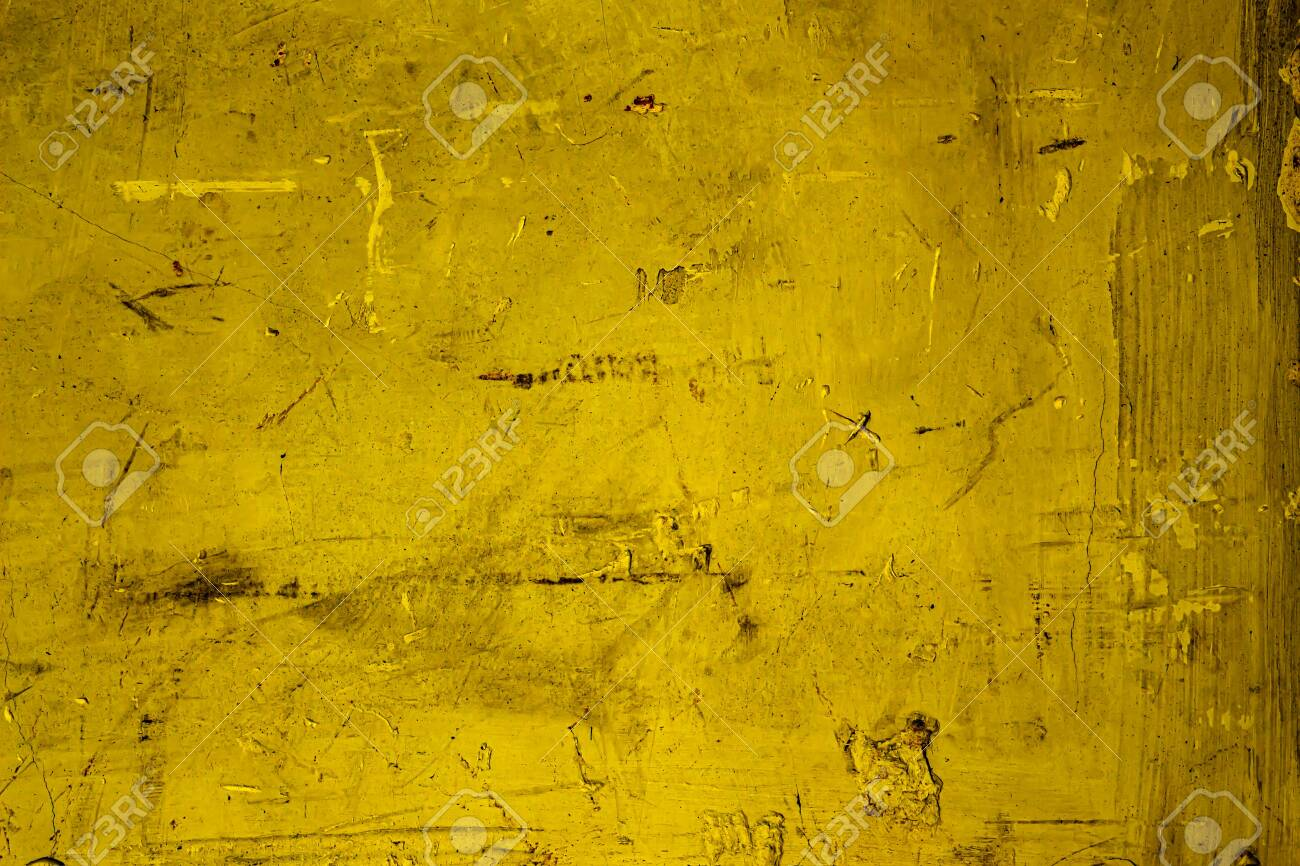 Yellow Colored Wall Texture Background With Textures Of Different Stock Photo Picture And Royalty Free Image Image 157022501