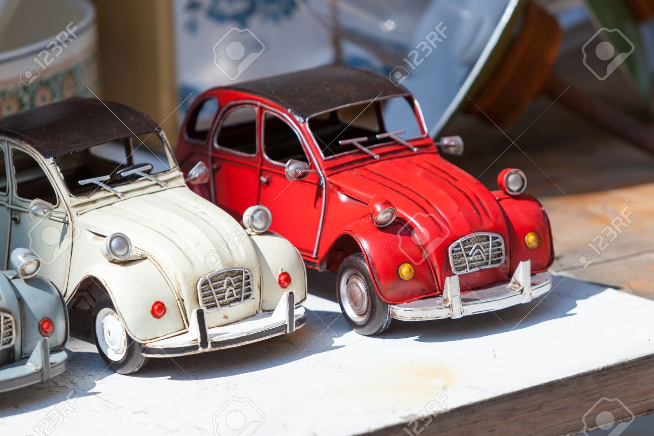 Models Of Old Citroen Cars Stock Photo, Picture And Royalty Free ...