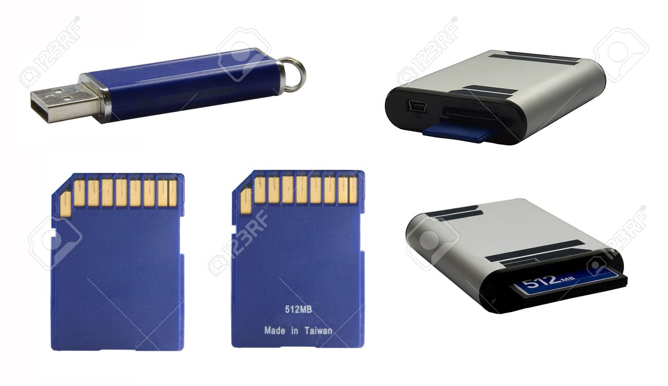 A Data Storage Device For Cameras, Portable Sound Devices... Stock ...