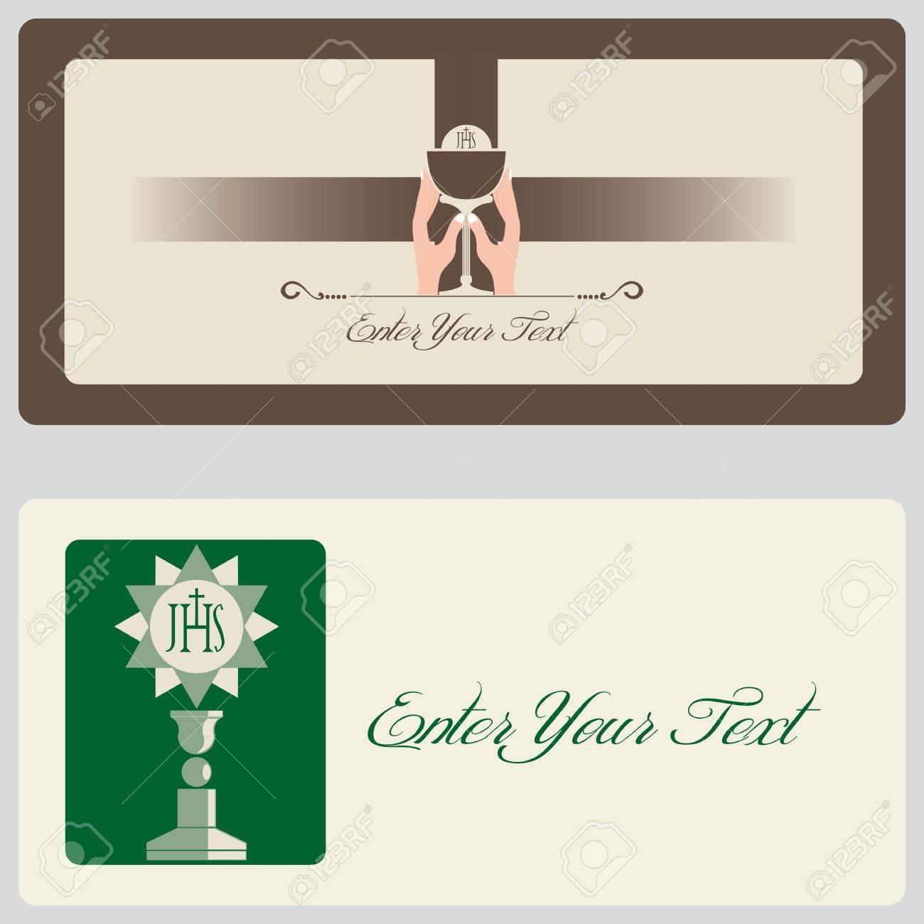 Religión Tarjetas De Invitación