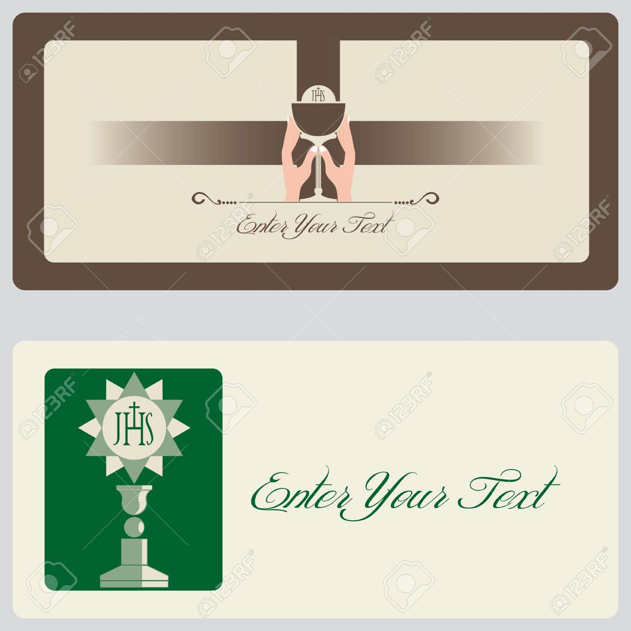 Religion - Invitation Cards Stock Vector - 14287270