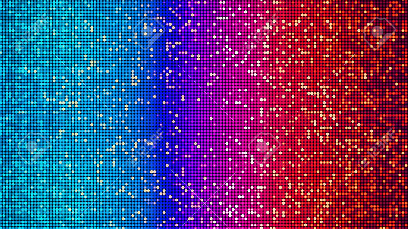 Colorful abstract party, disco and celebration background - digitally generated image - 130118878